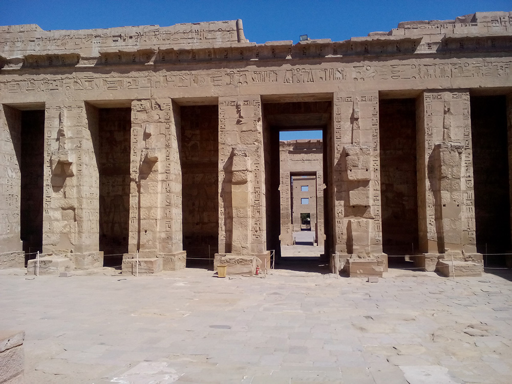 Луксорский храм и музей, Мединет Абу, Рамессеум